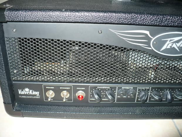 peavey valveking vk100 all tube amp head with foot switch reverb. Black Bedroom Furniture Sets. Home Design Ideas