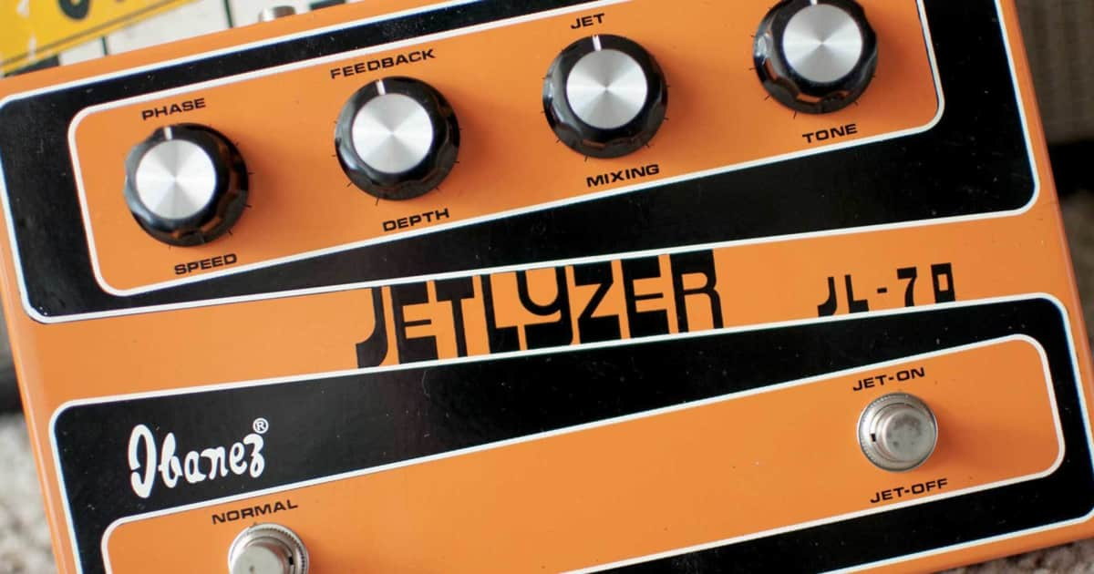 gallery snazzy fonts on vintage guitar pedals reverb. Black Bedroom Furniture Sets. Home Design Ideas