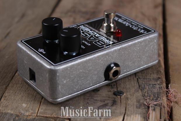 electro harmonix bass preacher compressor sustainer bass guitar effects pedal reverb. Black Bedroom Furniture Sets. Home Design Ideas