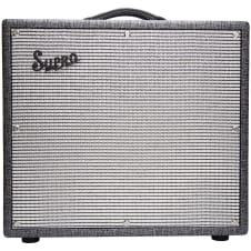 "Supro 1695T Black Magick 25W 1x12"" Combo Guitar Amplifier B-Stock image"