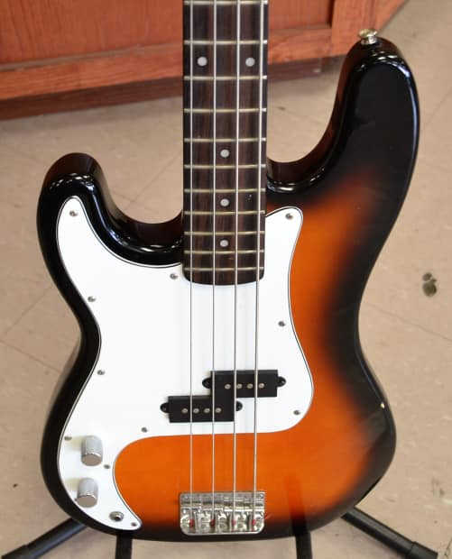 squier by fender p bass precision bass 4 string bass guitar reverb. Black Bedroom Furniture Sets. Home Design Ideas