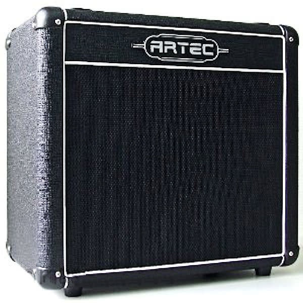 artec t110 guitar speaker cab black 40 watt rms superb sound compact enough as a stack free. Black Bedroom Furniture Sets. Home Design Ideas