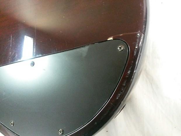 Ibanez RDGR 5 String Bass Guitar Body Brown Burst   Reverb
