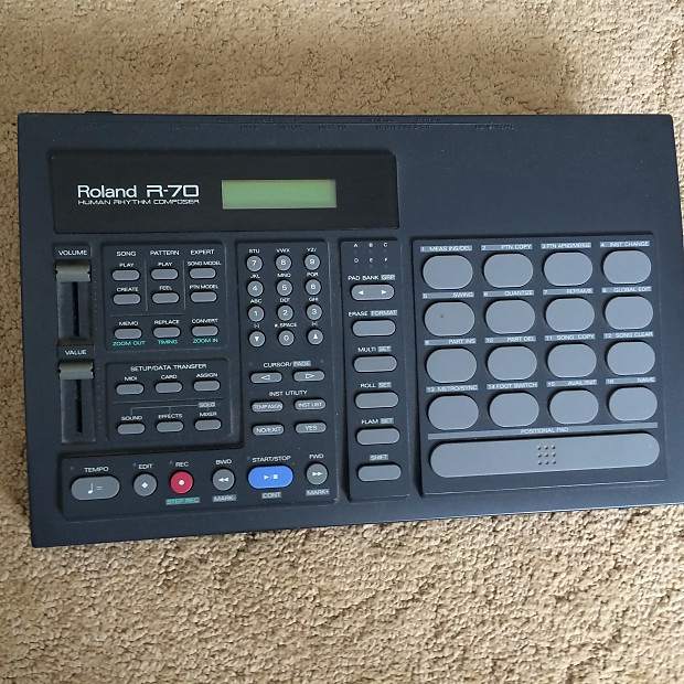 roland r 70 drum machine