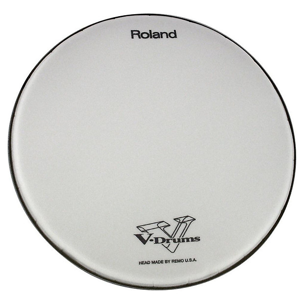 how to clean roland v drum heads