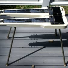 Supro 1450 Console 12 Double Neck  with legs. . image