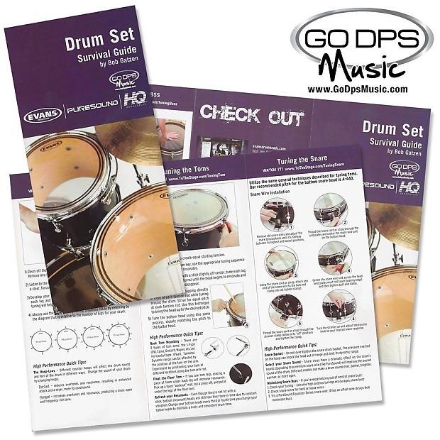 evans black chrome 10 tom head tt10chr w drum set survival reverb. Black Bedroom Furniture Sets. Home Design Ideas