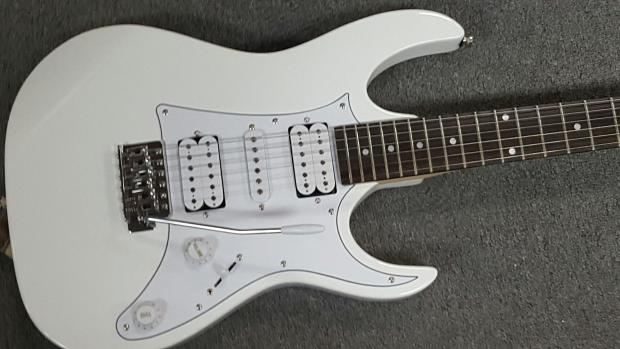 ibanez grx50 gio rx electric guitar hsh white reverb. Black Bedroom Furniture Sets. Home Design Ideas