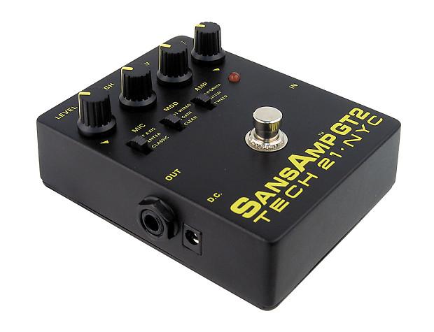 Tech 21 Pedals : tech 21 sansamp gt2 distortion pedal reverb ~ Russianpoet.info Haus und Dekorationen