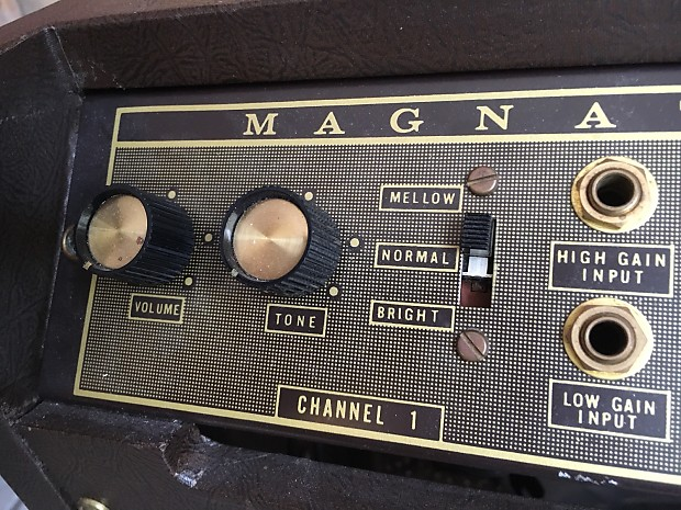 magnatone custom 450 stereo amplifier  pitch shifting