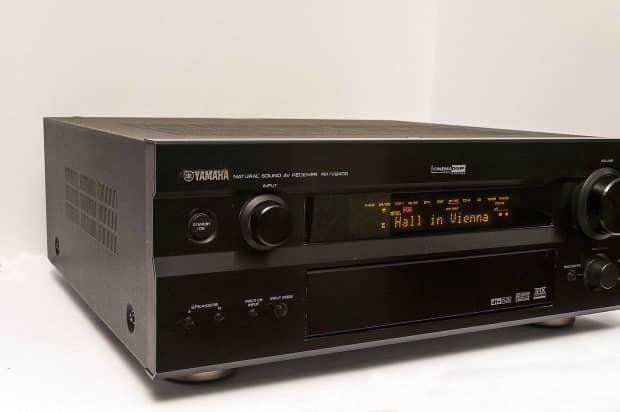 yamaha rx v2400 7 1 channel av receiver nice sale