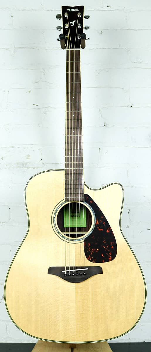Yamaha fgx830c cutaway acoustic electric guitar reverb for Yamaha fg830 specs