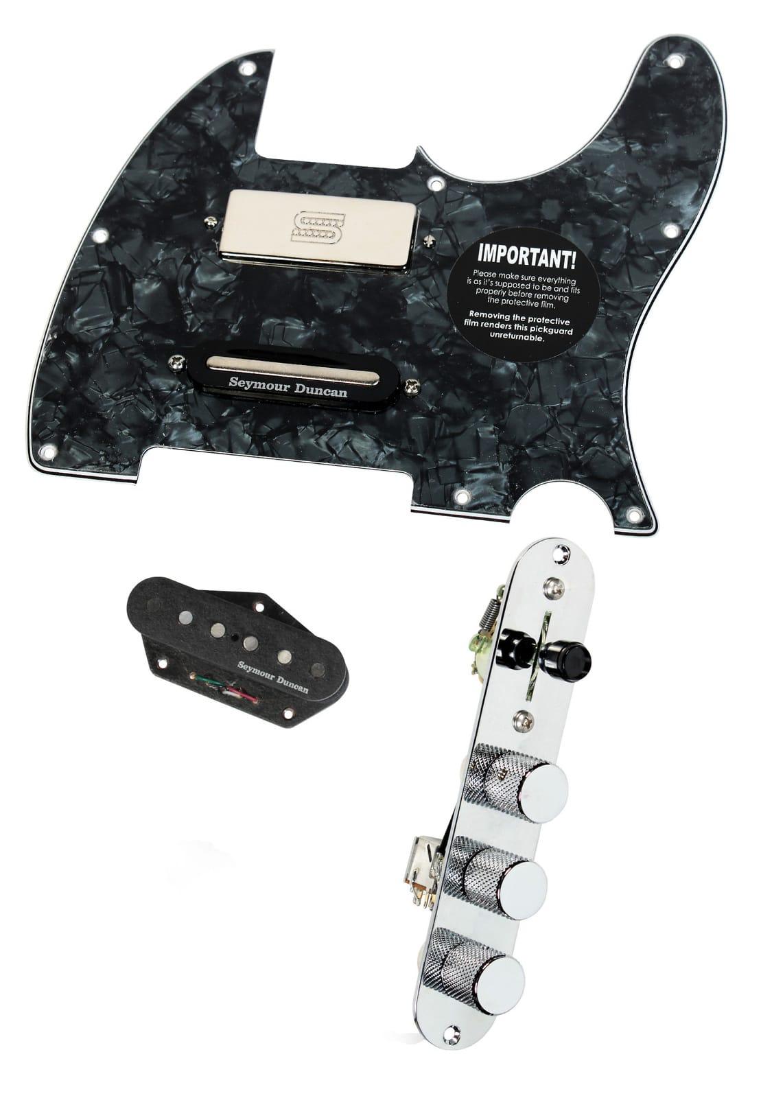 fender tele telecaster loaded pickguard duncan brent mason reverb. Black Bedroom Furniture Sets. Home Design Ideas