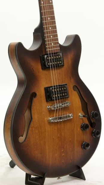 ibanez am73b tf tobacco flat semi hollow body electric guitar reverb. Black Bedroom Furniture Sets. Home Design Ideas
