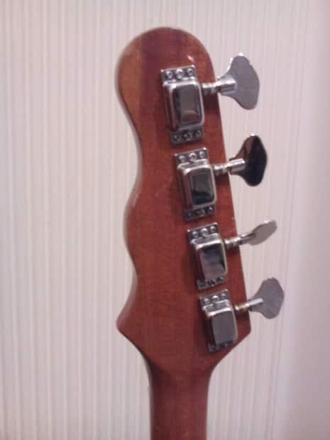 vintage 1960 39 s mayfair bass guitar made in japan fender. Black Bedroom Furniture Sets. Home Design Ideas