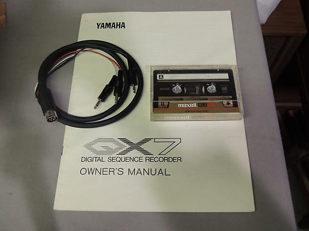 Yamaha Digital Sequence Recorder Qx