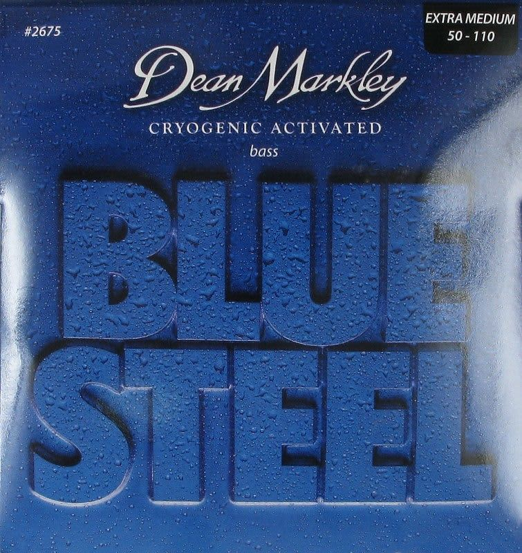 dean markley blue steel bass strings extra medium 50 110 reverb. Black Bedroom Furniture Sets. Home Design Ideas