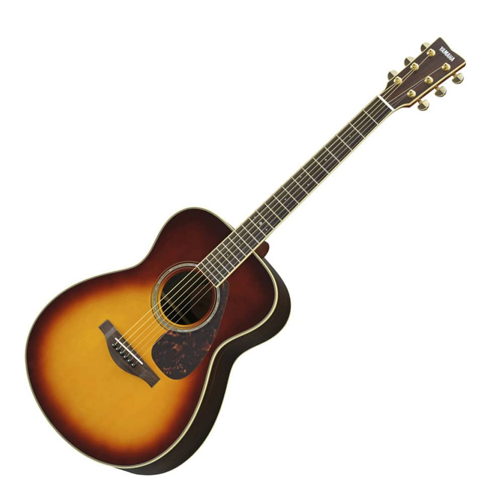 Yamaha ls6are small body acoustic guitar brown sunburst for Yamaha ls16 vs ll16