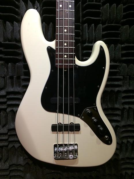 fender standard jazz bass guitar with emg pickups 1999 white reverb. Black Bedroom Furniture Sets. Home Design Ideas