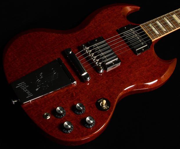 gibson derek trucks model sg vintage red electric guitar reverb. Black Bedroom Furniture Sets. Home Design Ideas