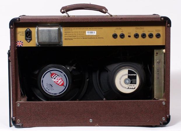 Marshall Acoustic Guitar Amp As80r 80 Watt W Mic Imput