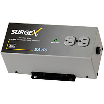 surgex sa15 2 outlet surge protector power conditioner reverb. Black Bedroom Furniture Sets. Home Design Ideas