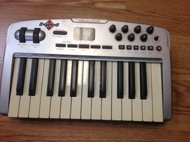 m audio oxygen 8 v2 keyboard controller reverb. Black Bedroom Furniture Sets. Home Design Ideas