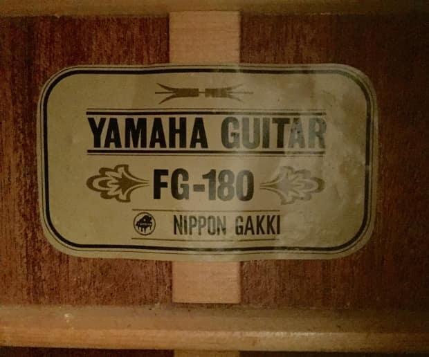 Vintage Yamaha  String Acoustic Labels
