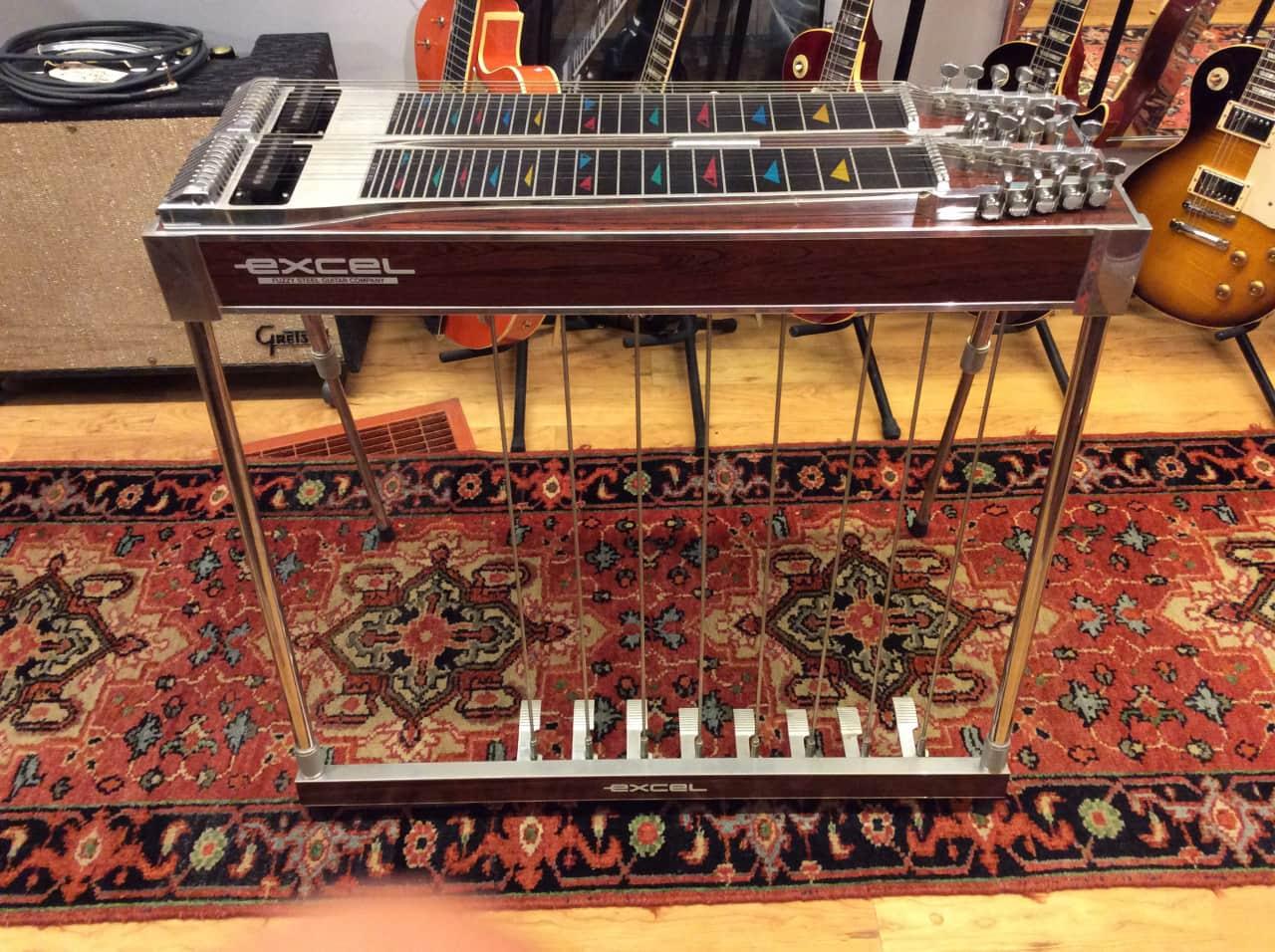 excel pedal steel guitar with case reverb. Black Bedroom Furniture Sets. Home Design Ideas