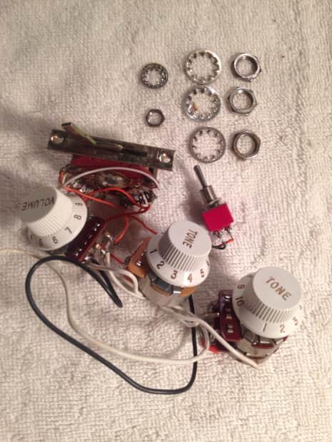 fender stratocaster ultra 1991 tbx pot switch harness reverb. Black Bedroom Furniture Sets. Home Design Ideas