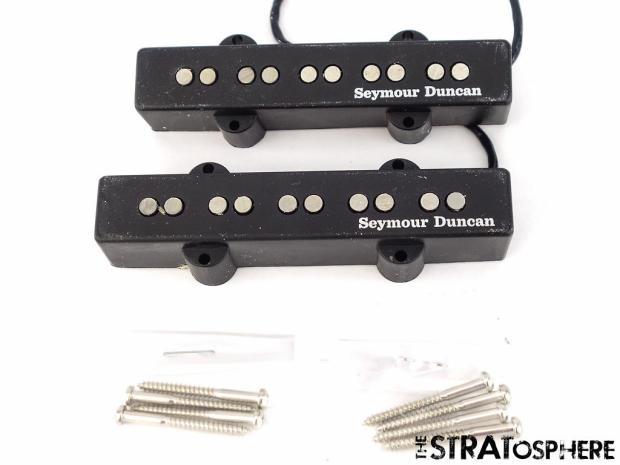 used seymour duncan sj5s 67 70 passive 5 string for jazz bass pickups pickup set reverb. Black Bedroom Furniture Sets. Home Design Ideas