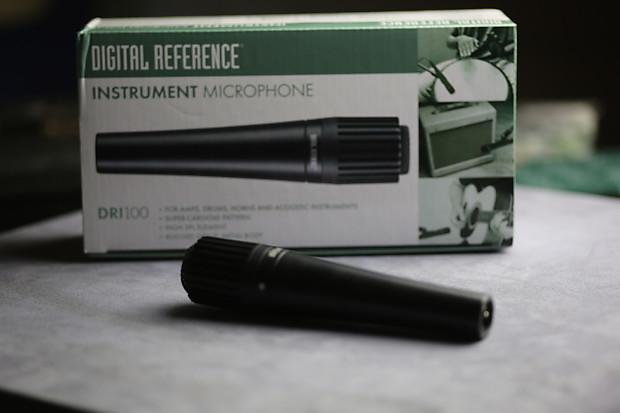 digital reference e dri100 dynamic instrument mic reverb. Black Bedroom Furniture Sets. Home Design Ideas