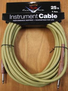 Fender Custom Shop Performance Series Tweed 25' Instrument Cable image