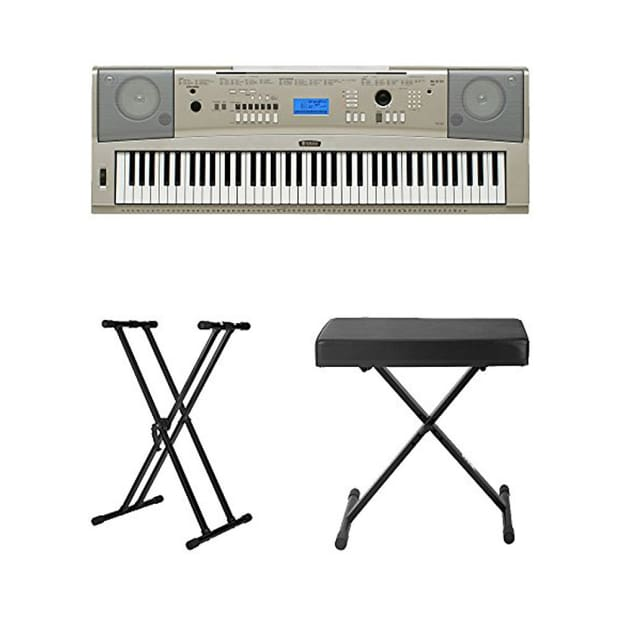 yamaha ypg 235 76 key portable grand piano keyboard gray