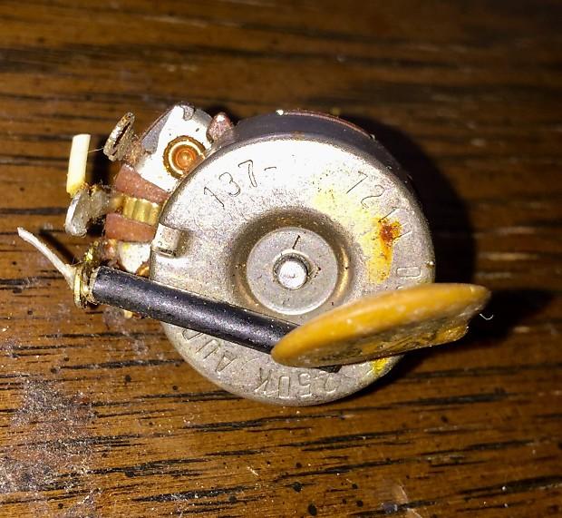 guitar wiring capacitor volume pot - 28 images