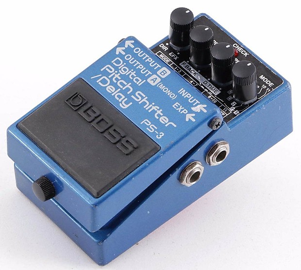 boss ps 3 digital pitch shifter delay guitar effects pedal reverb. Black Bedroom Furniture Sets. Home Design Ideas