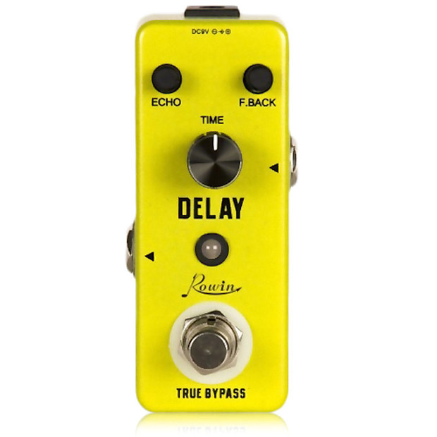 rowin lef 314 delay analog mini guitar effect pedal 20ms to reverb. Black Bedroom Furniture Sets. Home Design Ideas