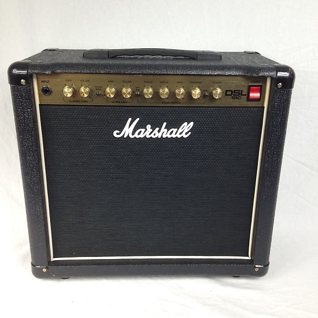 marshall dsl15c tube combo guitar amplifier reverb. Black Bedroom Furniture Sets. Home Design Ideas