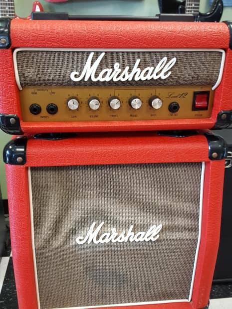marshall 3005 red mini stack reverb. Black Bedroom Furniture Sets. Home Design Ideas