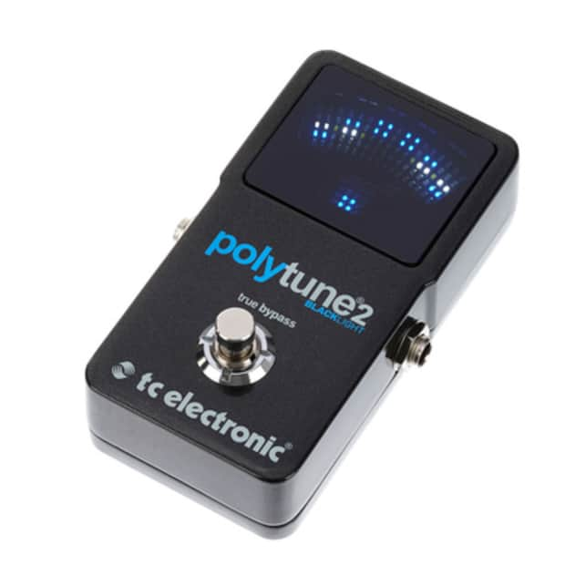 tc electronic polytune 2 blacklight polyphonic tuner pedal reverb. Black Bedroom Furniture Sets. Home Design Ideas