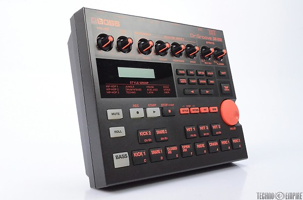 boss dr 202 midi drum machine qm 30 metronome owned by reverb. Black Bedroom Furniture Sets. Home Design Ideas