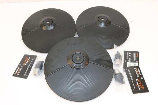 roland cy 5 electronic v drum hi hat cymbal crash splash pad reverb. Black Bedroom Furniture Sets. Home Design Ideas