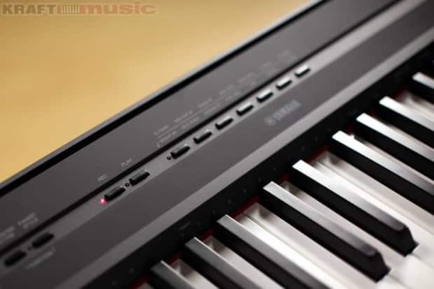 Yamaha p 115 digital piano black reverb for Yamaha digital piano p 115