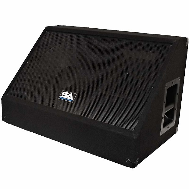 12 floor stage monitor pa speaker new 250 watts church for 12 floor speakers