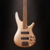 <p>Ibanez SR300ECGD SR Soundgear Electric Bass Guitar Champagne Gold</p>  for sale