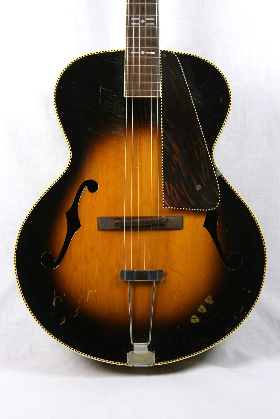 Gibson made old kraftsman registered supreme archtop for Spiegel history