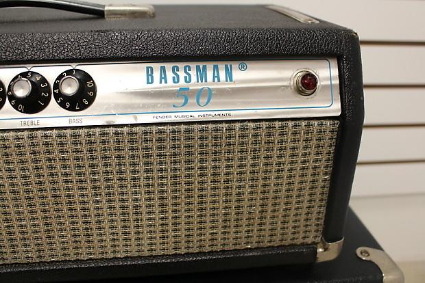 Dating a fender bassman 50