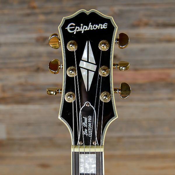 epiphone les paul custom pro electric guitar reverb. Black Bedroom Furniture Sets. Home Design Ideas