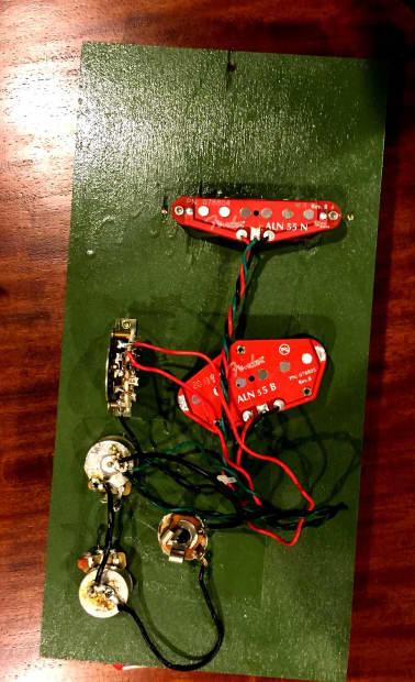 fender tele noiseless pickup wiring harness 4 way switch reverb. Black Bedroom Furniture Sets. Home Design Ideas