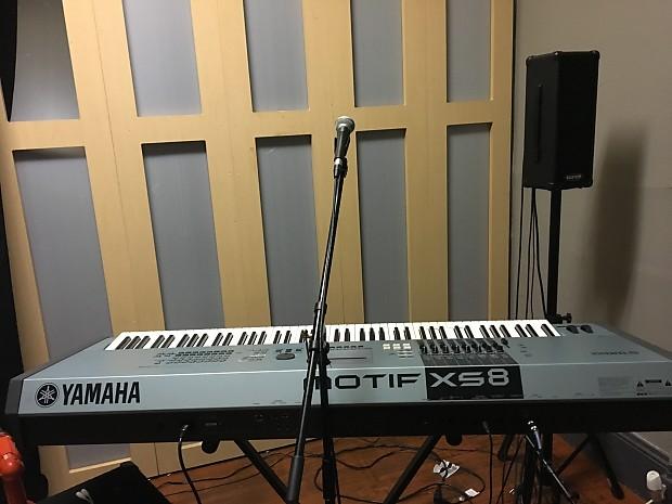 Yamaha mofit xs8 reverb for Yamaha motif xs8 specs